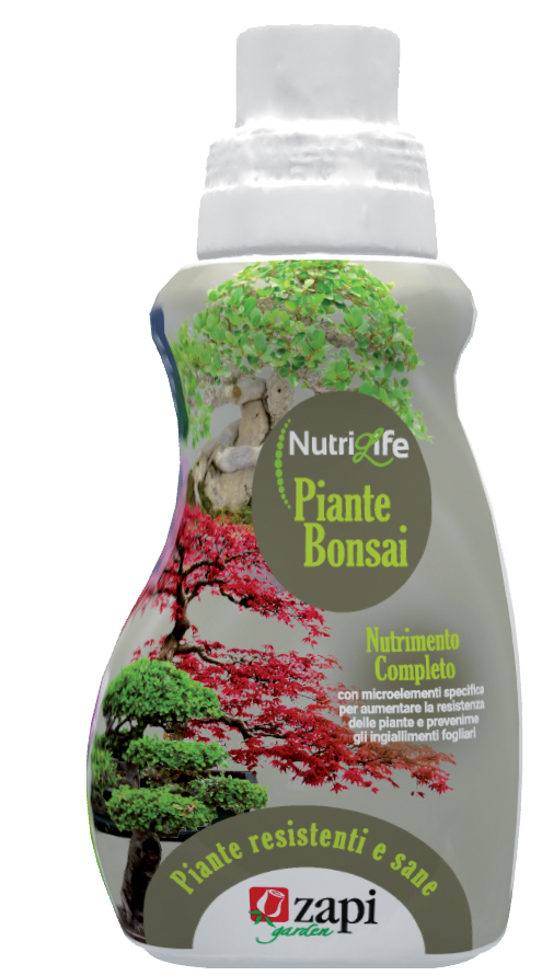 NutriLife Concime Liquido Zapi Piante Bonsai_350ml